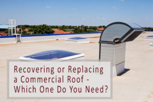 replacing a commercial roof